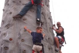 3 climbers Del Mar